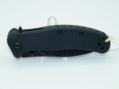 Kershaw 1730BWH3 Zing Stainless Steel Assisted Opening Pocket Knife ($58 Retail)