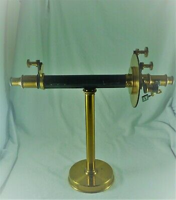Fabulous Antique Estate Phillip Harris & Co  Shadow Polarimeter C 19Th Century
