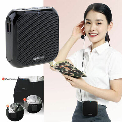 Voice Amplifier Portable Rechargeable Speaker For Classroom Meetings Outdoor