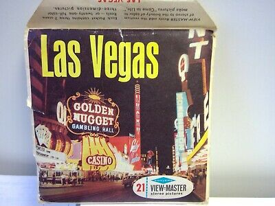 Viewmaster Las Vegas Golden Nugget Reel