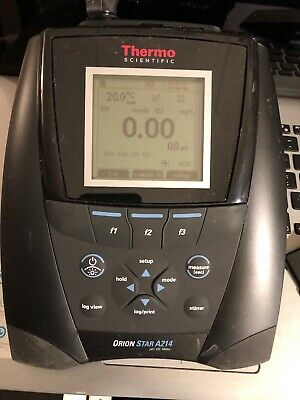 10446 Thermo Scientific Benchtop, Ph/Ise Meter Orion Star A214