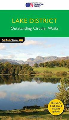 Lake District Outstanding Circular Walks (Pathfinder Guides) by Terry Marsh The