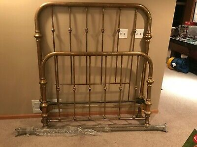 Beautiful Antique Brass Bed Full Double