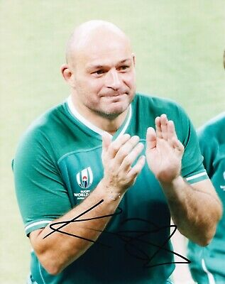 Rory BEST Signed 10X8 Photo Ireland ICONIC IMAGE FROM FINAL GAME AFTAL COA (C)
