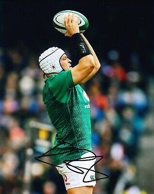 Rory BEST Signed 10X8 Photo Lions Ulster & Ireland Rugby AFTAL COA (F)