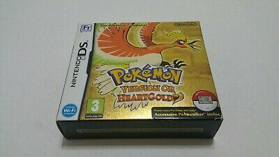Pokemon: HeartGold Version (Nintendo DS, 2010) french brand new sealed rare mint