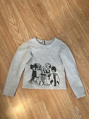 Christian Dior Girls 8 Years Top