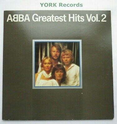 ABBA - Greatest Hits Vol 2 - Excellent Condition LP Record Epic EPC  1017