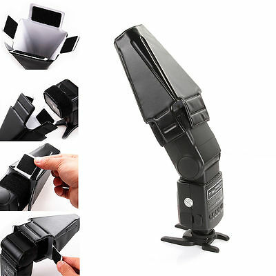 Foldable Flash Speedlite Speedlight Reflector Diffuser Snoot Softbox HOT SALE