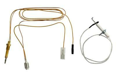 Spare Thermocouple + Electrode Kit For Thetford Spinflo Aspire Ck13000 Sspa0625