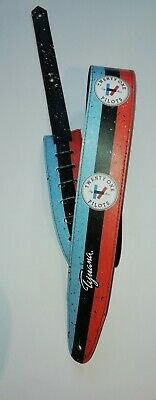 TWENTY ONE PILOTS Guitar or Bass Strap, Adjustable Size Eco-Friendly Leather TOP