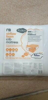 Mothercare Airflow Foam Crib Mattress. Brand New, Cost £35