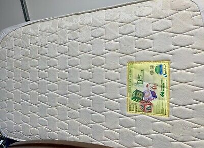Baby Bunting Cot Mattress Inner Spring Deluxe #As New#