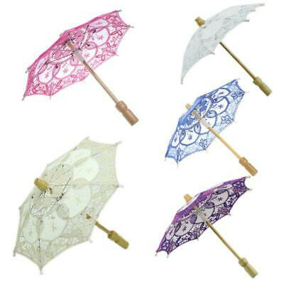 HOTsale Parasol Umbrella Embroidered Lace For Bridal Wedding Party Decor