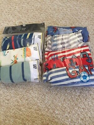 GAP KIDS  2 Packs Boys Boxer Briefs (8 Pairs Total)-size Large