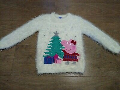 Girls Light-up Peppa Pig Jumper - Size 4-5