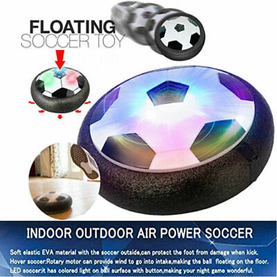 Indoor LED Hover Ball Air Power Floating Soccer Ball Light Up Football Toy Q6J4X