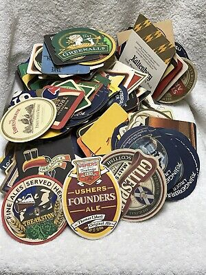 Collection Of Over 200 Beer Mats.