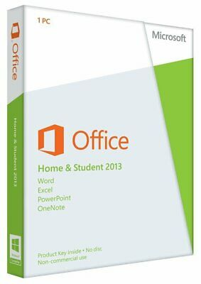 Microsoft Office Home and Student 2013 (Opened Box)