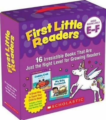 NEW First Little Readers Parent Pack: Guided Reading Levels E & F By Liza Charle