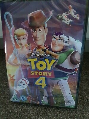 Toy Story 4 [DVD] new and sealed genuine UK DVD