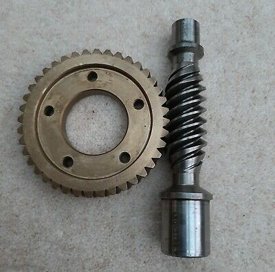 Worm and Wheel reduction gears, heavy duty 10:1