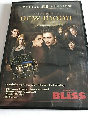 The Twilight Saga; New Moon Special Preview DVD