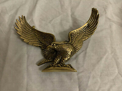 Vintage Brass Full Eagle Door Knocker