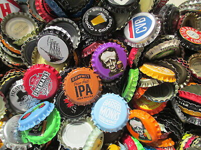 """500  """"Uncrimped""""  Beer Crowns , Great Variety, Over 70 different styles in 500"""