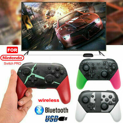 Wireless Bluetooth Pro Controller Gamepad Charging Cable for Nintendo Switch UK*