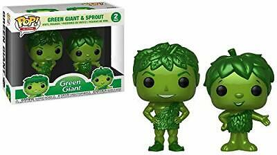 Funko POP! Ad Icons: Green Giant and Sprout 2 Pack [Metallic] - SDCC Debut