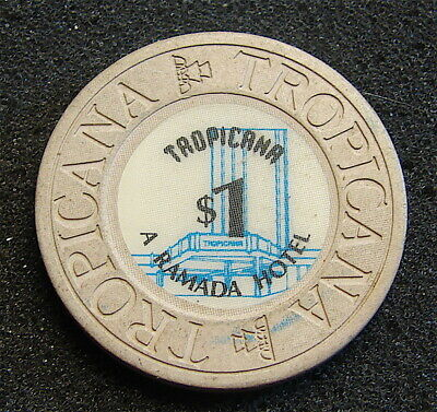 Tropicana-A Ramada Hotel-----$1 Dollar Game Token----Las Vegas Nevada