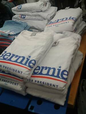 Bernie 2020 XXL  Election T-Shirt Sanders Presidential USA MADE IN STOCK NOW!!