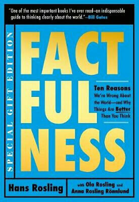 NEW Factfulness Illustrated By Hans Rosling Hardcover Free Shipping