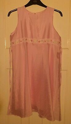 M&S Girls Pink Special Occasions Dress Age 14 Years