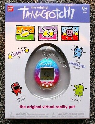 Tamagotchi The Original Gen 1 Rainbow (Unicorn) 1.5-Inch Virtual Pet Toy