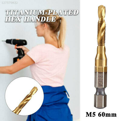 862B M5 Titanium Coated Drill Implement Factory Strong Metric Tap Drill