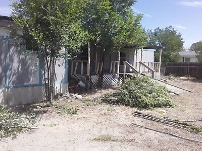 Moriarty New Mexico-Land with a manufactured on on it -great price- $22,000 Cash