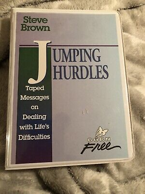 Steve Brown Cassette Set Message Jumping Hurdles~ Life's Difficulties