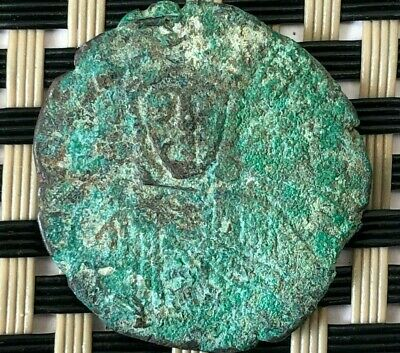 Leo Vi And Alexander 886-912 Ad Ae Follis Constantinople Ancient Byzantine Coin