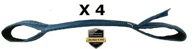 4 x Tyre Link Strap Car Carrying Strap, Wheel Strap, Tow, Towing FREE POST