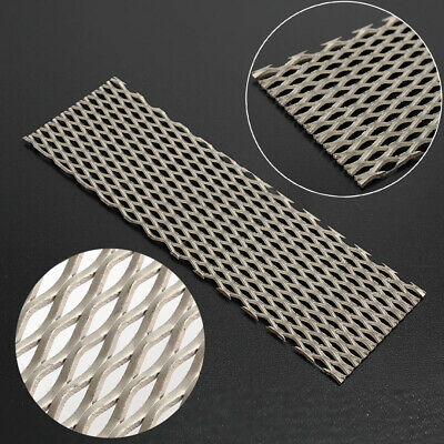 Titanium Metal Mesh Sheet Perforated Type Hole Plate Electrode 50mm x 165mm