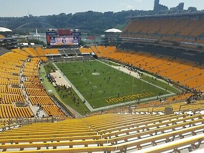 Lower than face value (2) 2019 Pittsburgh Steelers vs Buffalo Bills tickets
