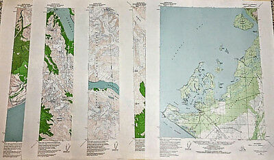 1955-1987 Your Choice of Alaska Maps Editions Topographic