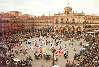 Picture Postcard, Salamanca, Plaza Mayor