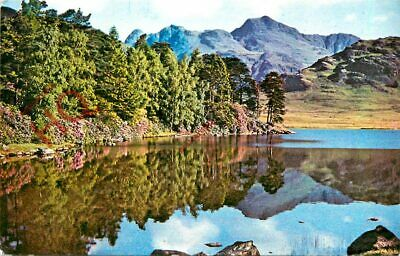 Picture Postcard:;English Lake District, Blea Tarn And Langdale Pikes