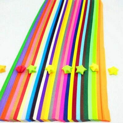 540 pieces - 27 color comb ORIGAMI LUCKY STAR PAPER- new stock