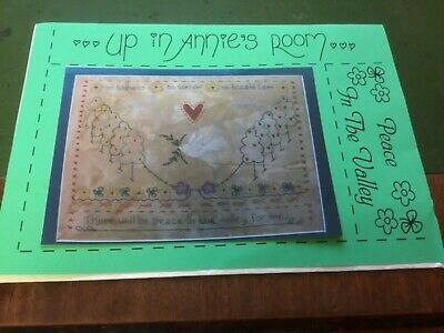 Up in Annie's Room Embroidery Pattern called 'Peace in the Valley'