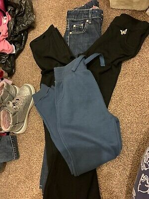 Girls Trousers 8-9 Years.     4 Items