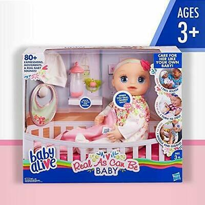 Baby Alive Real As Can Be Baby Realistic Blonde Baby Doll
